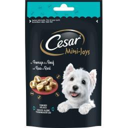 Cesar Friandises Mini-Joys au fromage et au bœuf