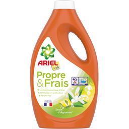 Ariel Ariel Lessive liquide simply parfum zeste d'agrumes La bouteille de 33lavages