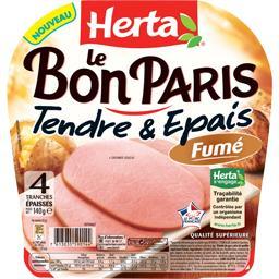 Le Bon Paris - Jambon Tendre & Epais fumé