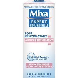 Mixa Expert Peau Sensible - Soin réhydratant anti-dessèch...