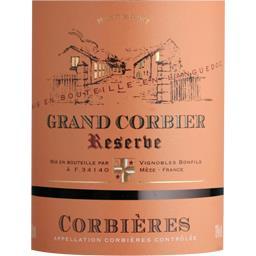 Corbières Grand Corbier Réserve, vin rouge
