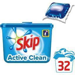 Capsules de lessive Active Clean tout en 1