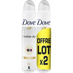 Dove Invisible Dry - Déodorant anti-transpirant 48h, anti...