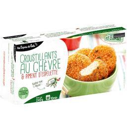 Les Tapas de Lulu Croustillants au chèvre & piment d'Espelette la boite de 8 - 240 g