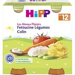 Les Menus Plaisirs - Fettucine légumes colin, dès 12...