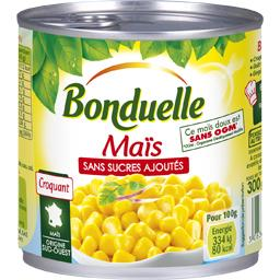 Maïs sans sucres ajoutés