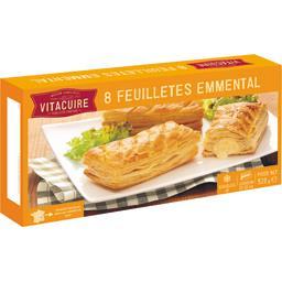 Vitacuire Vitacuire Feuilletés au fromage à cuire, pré-dorés, x8 la boîte,520g