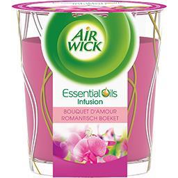 Air Wick Bougie Essential Oils Infusion Bouquet d'amour la bougie de 105 g