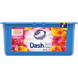 Dash 3en1 - pods - coquelicot - lessive en capsules - 29 ...
