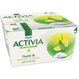Activia - Lait fermenté Touche de verveine & citron