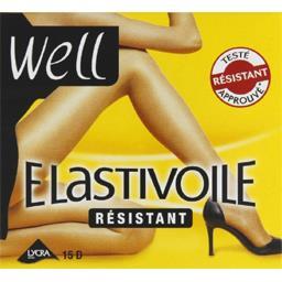 Elastivoile - Collant résistant T2 noir
