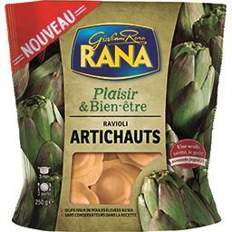 Bien-être Rana Plaisir & Bien-être - Ravioli artichauts le sachet de 250 g