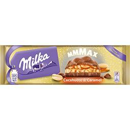 Milka Milka Mmmax - Chocolat au lait cacahuète & caramel la tablette de 276 g