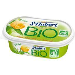 St Hubert Bio doux (58% Matière grasse) ,ST HUBERT,la barquette de 250g