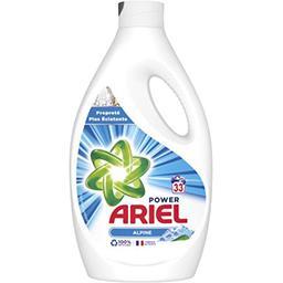 Ariel Ariel Power, lessive liquide fraîcheur alpine La bouteille de 33 lavages