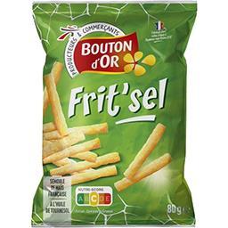 Frit'sel, produit soufflé à base de céréales et pomm...
