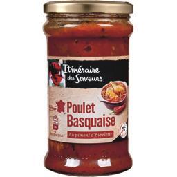 Poulet basquaise au piment d'Espelette