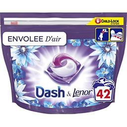 Dash Dash Lessive en capsules envolée d'air La boîte de 42 lavages