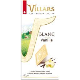 Chocolat blanc vanille