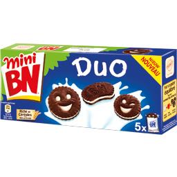 Mini biscuits Duo chocolat et vanille