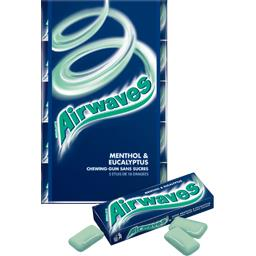 Chewing-gum menthol & eucalyptus sans sucres
