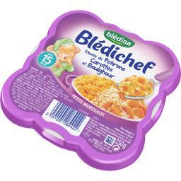 Blédichef - Etuvée de potirons carottes et boulghour...