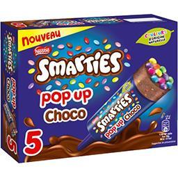 Smarties Smarties Glace Pop Up choco la boite de 5 glaces - 225 g