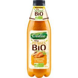 Créaline Mes Potages BIO - Potage carottes et panais BIO la bouteille de 950 ml