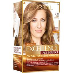 Excellence Age Perfect - Coloration blond caramel 7....