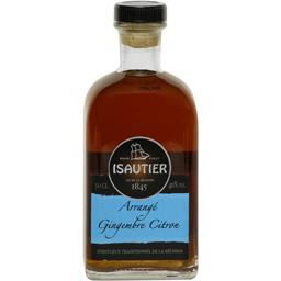 Isautier Isautier Spiritueux arrangé gingembre citron la bouteille de 50 cl