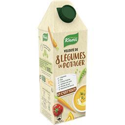 Knorr Velouté de 8 légumes du potager la brique de 750 ml