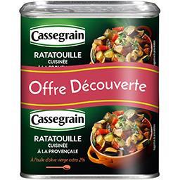 Cassegrain Ratatouille cuisinée à la provençale
