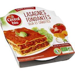 Lasagnes fondantes sans viande soja et carottes BIO