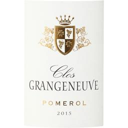 Pomerol Clos Grangeneuve vin Rouge 2015