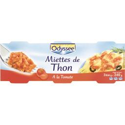Miettes de thon à la tomate