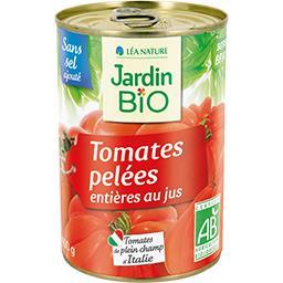 Tomates pelées entières au jus BIO