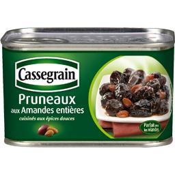 Pruneaux aux amandes entières cuisinés aux épices douces