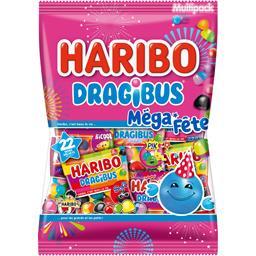 Dragibus - Mini sachets de bonbons Méga Fête