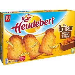 Biscottes La Braisor dorée et savoureuse