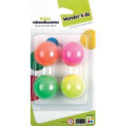 Balles rebondissantes 38 mm