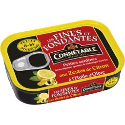 Les Fines et Fondantes - Sardines citron huile d'oli...