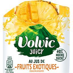 Boisson Juicy au jus de fruits exotiques