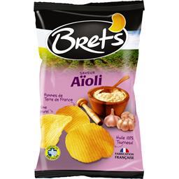 Bret's Bret's Chips saveur aïoli le sachet de 125 g