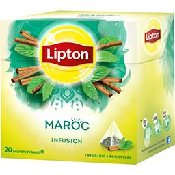 Infusion Maroc menthe & épices
