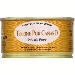 Terrine pur canard 0% de porc