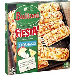Buitoni Buitoni Fiesta ! - Pizza 3 fromages la boîte de 500 g