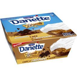 Danette - Dessert Le Liégeois café lit croquant de chocolat