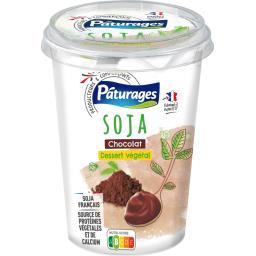 Dessert végétal soja chocolat