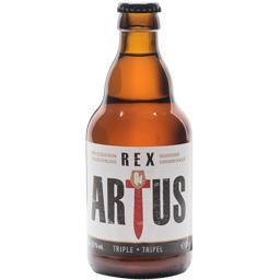 Rex Artus Bière triple la bouteille de 33 cl