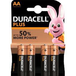 Piles Alcalines Plus Power AA LR6